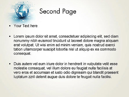 Strategic Communications PowerPoint Template, Slide 2, 13622, Telecommunication — PoweredTemplate.com