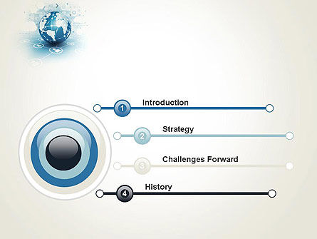 Strategic Communications PowerPoint Template, Slide 3, 13622, Telecommunication — PoweredTemplate.com