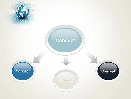 Strategic Communications PowerPoint Template, Slide 4, 13622, Telecommunication — PoweredTemplate.com