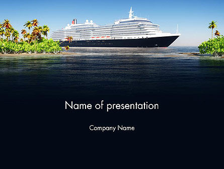 Careers/Industry: Cruise Ship PowerPoint Template #13623
