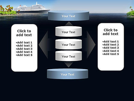 Cruise Ship PowerPoint Template Slide 13
