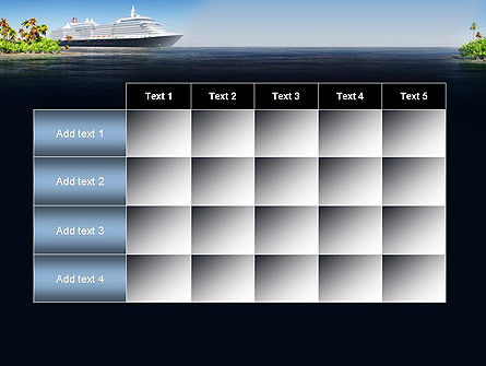 Cruise Ship PowerPoint Template Slide 15