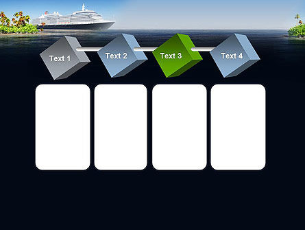 Cruise Ship PowerPoint Template Slide 18