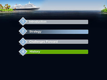 Cruise Ship PowerPoint Template Slide 3