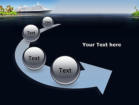 Cruise Ship PowerPoint Template Slide 6