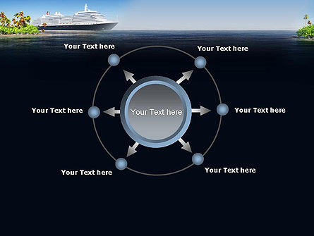 Cruise Ship PowerPoint Template Slide 7