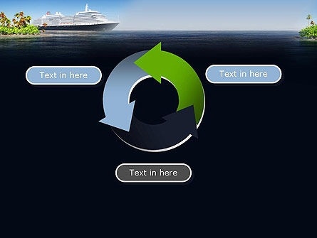 Cruise Ship PowerPoint Template Slide 9