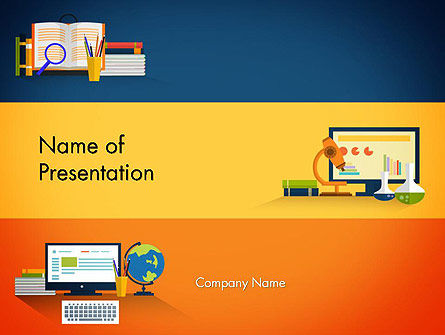 Educational Subjects PowerPoint Template, 13624, Education & Training — PoweredTemplate.com