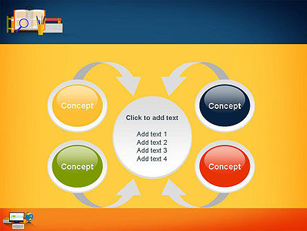 Educational Subjects PowerPoint Template Slide 6