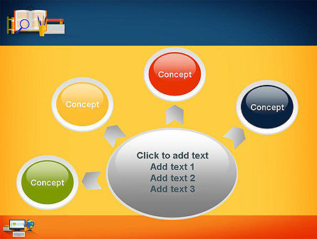 Educational Subjects PowerPoint Template Slide 7