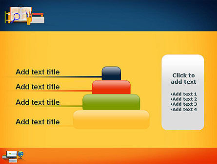 Educational Subjects PowerPoint Template Slide 8