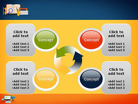 Educational Subjects PowerPoint Template Slide 9