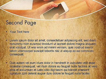 Digital Addiction PowerPoint Template, Slide 2, 13630, Telecommunication — PoweredTemplate.com