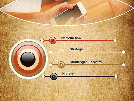 Digital Addiction PowerPoint Template, Slide 3, 13630, Telecommunication — PoweredTemplate.com