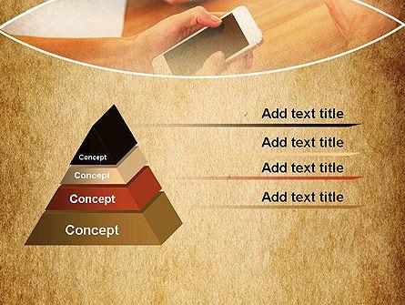 Digital Addiction PowerPoint Template, Slide 4, 13630, Telecommunication — PoweredTemplate.com