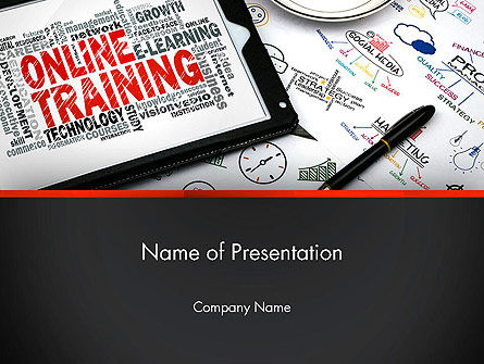 Education & Training: Thinking Big PowerPoint Template #13631