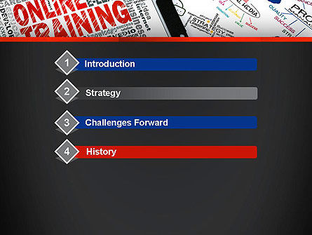 Thinking Big PowerPoint Template, Slide 3, 13631, Education & Training — PoweredTemplate.com