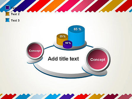 Stamp Style Frame Abstract PowerPoint Template Slide 16