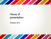Abstract/Textures: Stamp Style Frame Abstract PowerPoint Template #13634