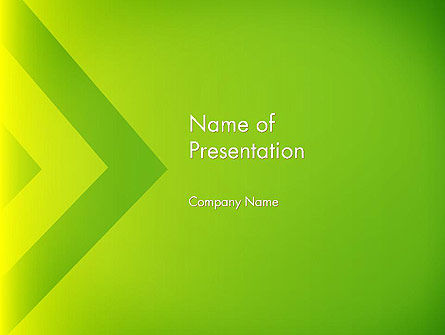 Green Abstract Edge PowerPoint Template, 13636, Abstract/Textures — PoweredTemplate.com