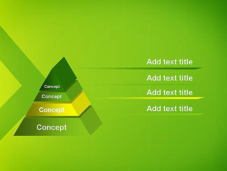 Green Abstract Edge PowerPoint Template Slide 12