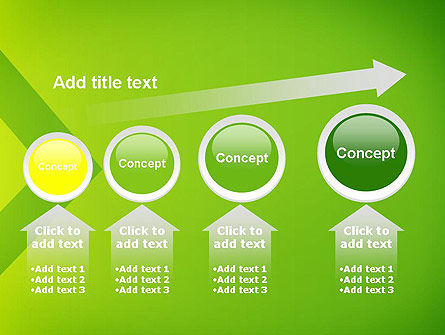Green Abstract Edge PowerPoint Template Slide 13