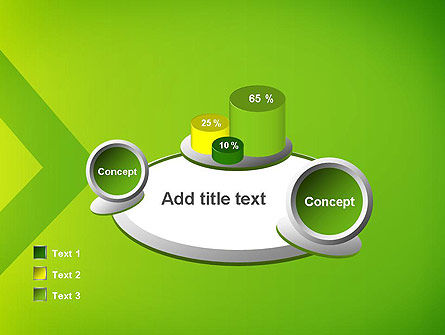 Green Abstract Edge PowerPoint Template Slide 16
