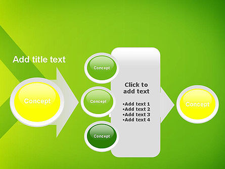 Green Abstract Edge PowerPoint Template Slide 17