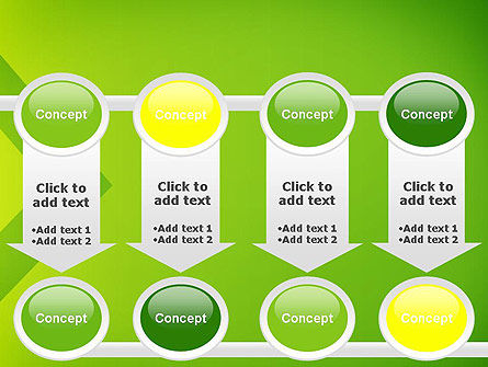 Green Abstract Edge PowerPoint Template Slide 18