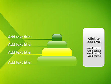 Green Abstract Edge PowerPoint Template Slide 8