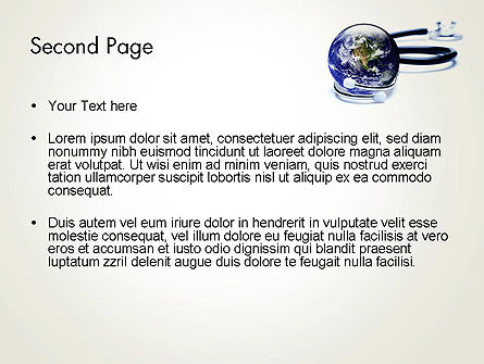 Global Medicine Concept PowerPoint Template Slide 2