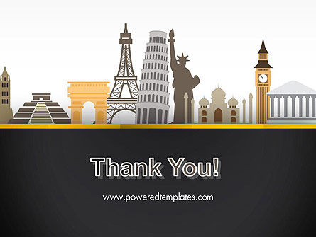 Landmarks from Around the World PowerPoint Template Slide 20