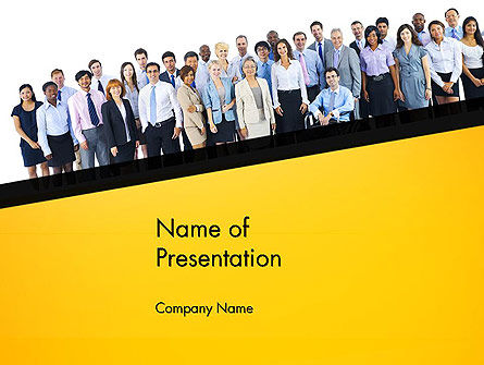 People: Huur Naleving PowerPoint Template #13640