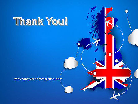 UK Air Travel PowerPoint Template Slide 20