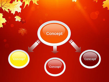 Autumn Maple PowerPoint Template, Slide 4, 13642, Nature & Environment — PoweredTemplate.com