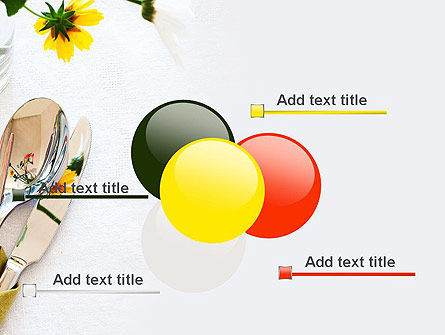 Table Setting Ideas PowerPoint Template Slide 10
