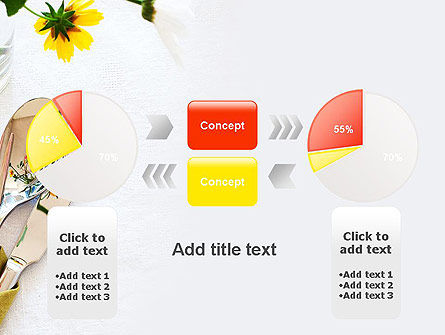 Table Setting Ideas PowerPoint Template Slide 11
