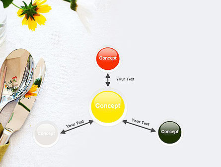 Table Setting Ideas PowerPoint Template Slide 14