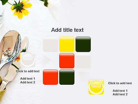 Table Setting Ideas PowerPoint Template Slide 16