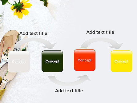 Table Setting Ideas PowerPoint Template Slide 4