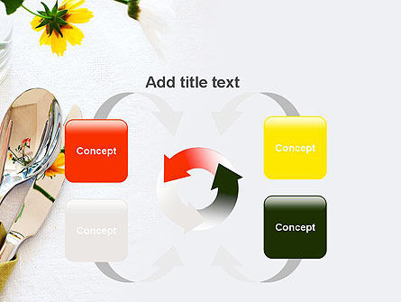 Table Setting Ideas PowerPoint Template Slide 6