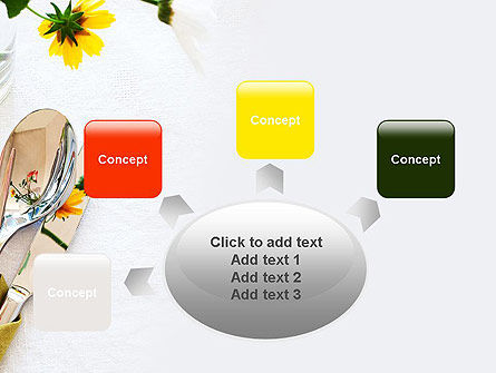 Table Setting Ideas PowerPoint Template Slide 7