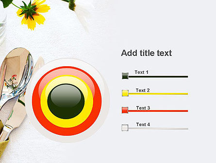 Table Setting Ideas PowerPoint Template Slide 9