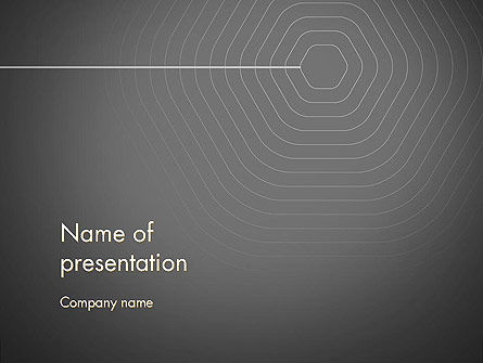 Abstract/Textures: Epicenter Abstract PowerPoint Template #13645