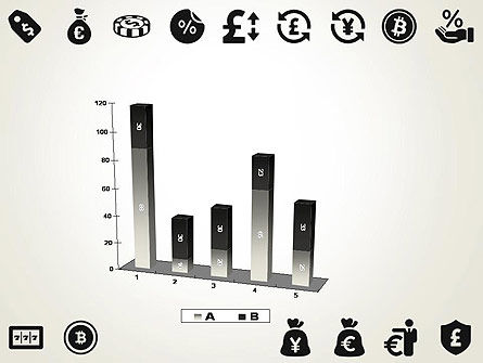 Flat Design Finance Icons PowerPoint Template Slide 17