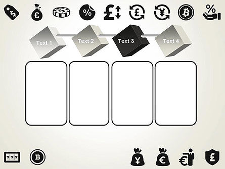 Flat Design Finance Icons PowerPoint Template Slide 18
