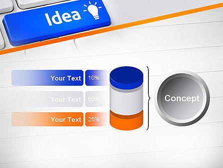 Idea Button On Keyboard PowerPoint Template Slide 11
