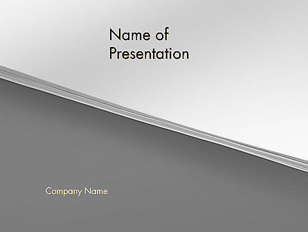 Splitted Diagonally Abstract PowerPoint Template
