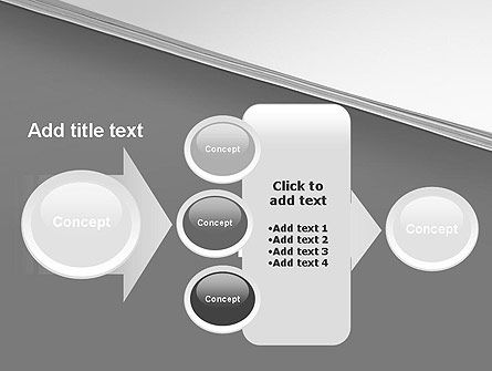 Splitted Diagonally Abstract PowerPoint Template Slide 17