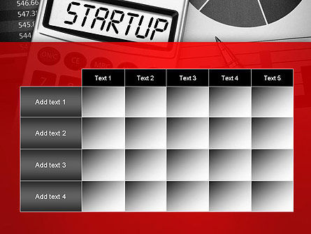 Startup Calculator PowerPoint Template Slide 15